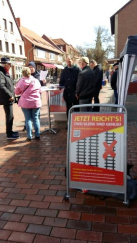 Aktion am 22.04.17 in Bad Bevensen
